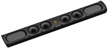 Golden Ear SuperSat 60 - On-Wall/Shelf LR/Surround Speakers