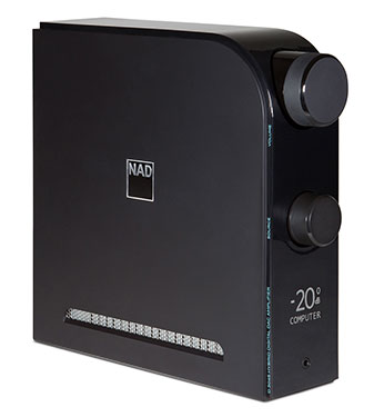 NAD D 3045 - 60W Stereo Integrated Amplifier / Headphone DAC & AMP w/�Two-Way Bluetooth