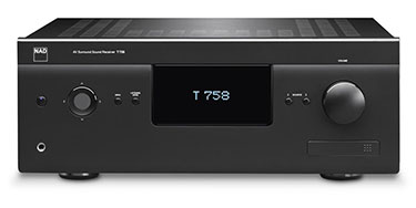 NAD T 758 V3i - 60W 7-Channel Receiver