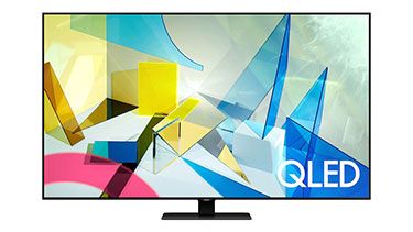 "Samsung, Q80T, 75"" UHD QLED Smart TV"