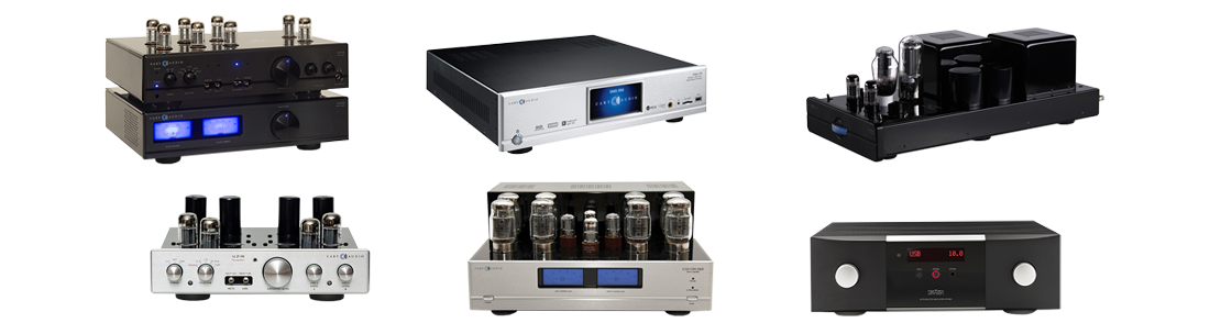 Cary Audio Amplifier Lineup
